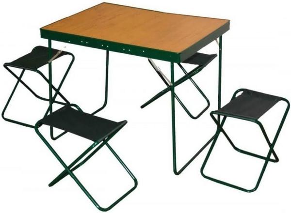 Дачные столики и стульчики для пикника своими руками 57
