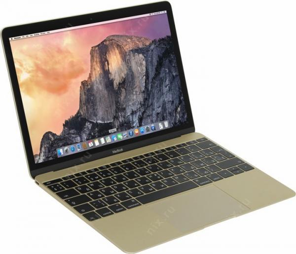 Ноутбук Apple MacBook (MLHE2RU/A) Gold
