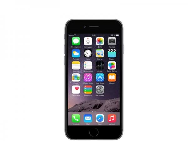 Apple iPhone 6 16gb black & space gray