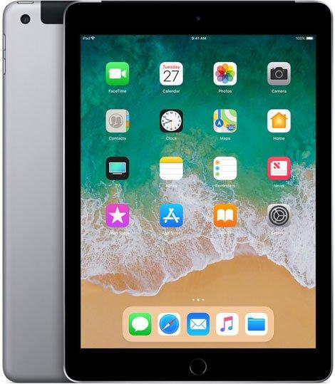 Планшет  Apple iPad Space Grey (MR7J2RU/A) (2018)
